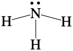 calculate formal charge from the lewis dot structure of NH3