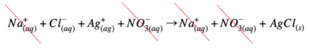 how to write net ionic equations